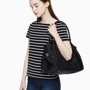 Kate Spade Stevie Black Diaper Bag, Handbag, or Tote